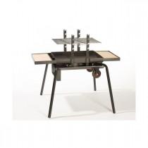 LE FEU ROULANT - Brasero Barbecue portable - Junior Luxe