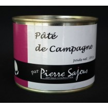Sajous - Paté de campagne - Conserve de 180g