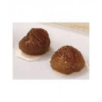 Marrons glacés entiers pliés or bio