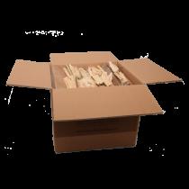 Carton de Bois de chauffage - livré en 24-48H partout en France
