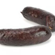 2 Boudins de Porc Noir de Bigorre frais