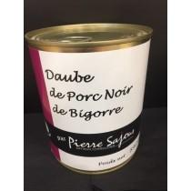 Daube de Porc Noir de Bigorre en verrine de 840g