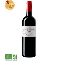 Extrait de Rambaud 2019 - Bordeaux rouge - Vin bio - 1 bouteille de 75 cl