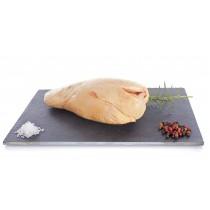 Foie gras Extra de canard fermier Label Rouge déveiné sous vide (surgelé)