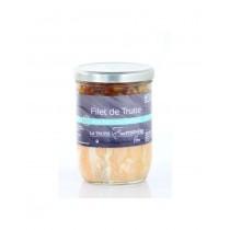 Filet de truite aux Haricots tarbais  - Verrine de 780g