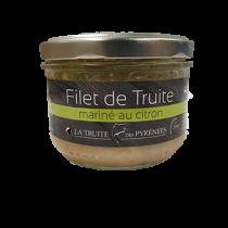 Filet de truite mariné au citron - Verrine de 200g