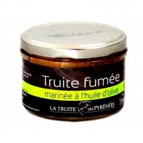 Filet de truite mariné à l'huile d'olive - Verrine de 200g