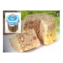 Graisserons Landais de canard au foie gras ( Pot de 250g)