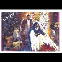 """Lot de 10 cartes de voeux - """"Il est né, le divin enfant!"""" par Julie d'Aragon"""
