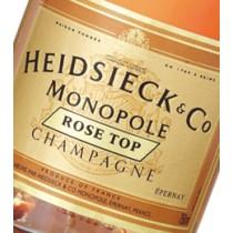 CHAMPAGNE - Heidsieck Monopole Rosé Top - 6 bouteilles de 75cl