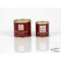 Paté de campagne landais au foie gras - Conserve de 100g