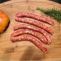 5 kg de Saucisses fines fraîches au pimento de la vera