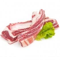 Poitrine entière désossée et decouennée de cochon du Sud-Ouest ( 2 kg)