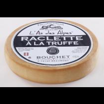 L'As des Alpes - Raclette de Savoie à la truffe - lait cru - 1/8 de meule ( environ 950g)