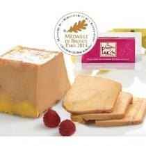 Foie gras de canard entier - Mi-Cuit -  Terrine de 450g